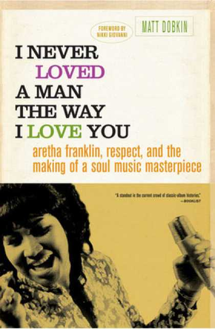 Greatest Book Covers - I Never Loved a Man the Way I Loved You