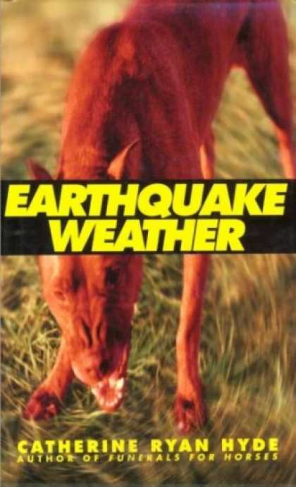 Greatest Book Covers - Earthquake Weather