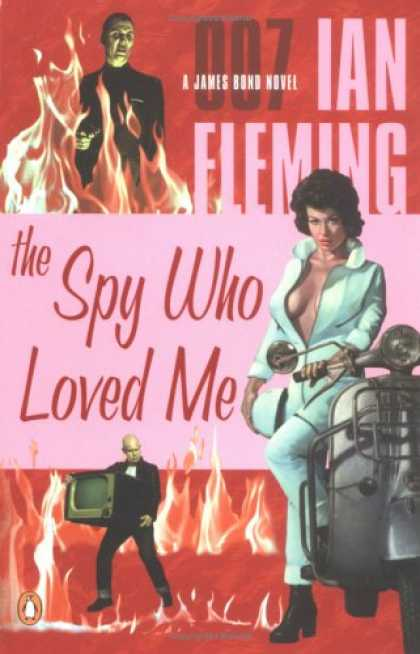 Greatest Book Covers - The Spy Who Loved Me