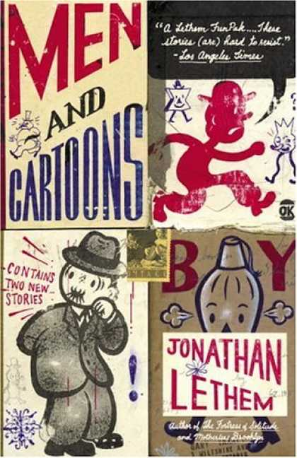 Greatest Book Covers - Men and Cartoons