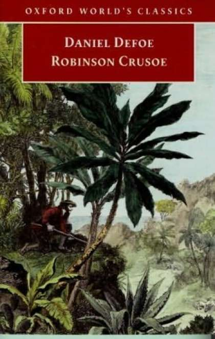 Greatest Novels of All Time - Robinson Crusoe