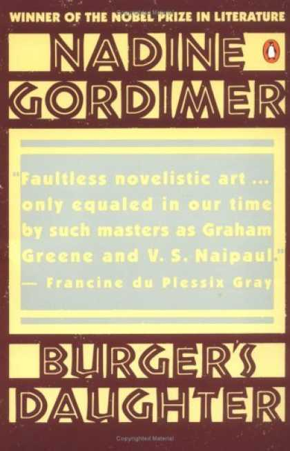 Greatest Novels of All Time - The Burger's Daughter