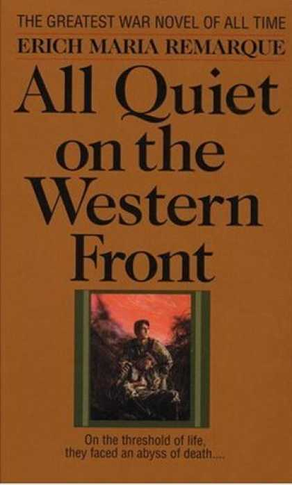 Greatest Novels of All Time - All Quiet On the Western Front