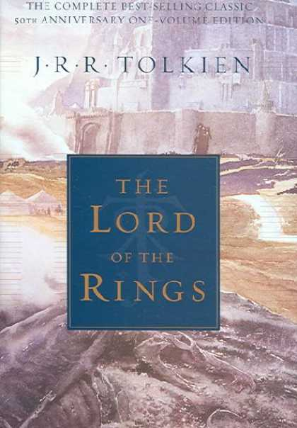 Greatest Novels of All Time - The Lord Of the Rings