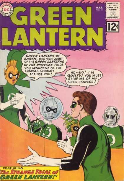 Green Lantern (1960) 1 - Dc - Dc Comics - Green Lantern - Guilty - Curt