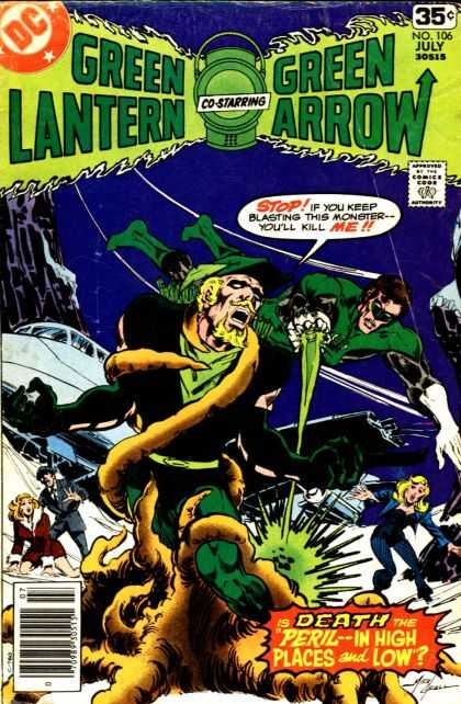 Green Lantern (1960) 106 - Green Arrow - Dc - No 106 - July Issue - Monster - Mike Grell