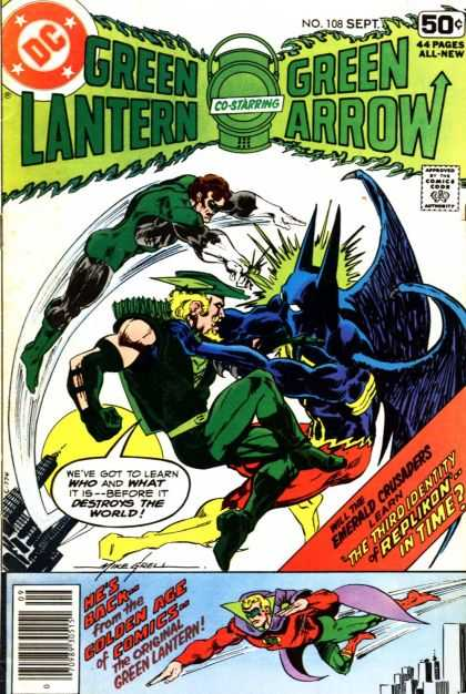 Green Lantern (1960) 108 - Mike Grell