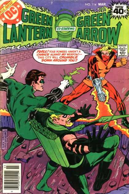 Green Lantern (1960) 114 - Dc - All New - Now 40 Cents - Mar - Now 114 - Dick Giordano