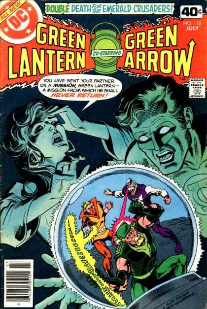 Green Lantern (1960) 118 - Double - Death - Mission - Return - Emerald Crusaders - Dick Giordano