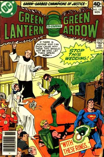 Green Lantern (1960) 122 - Arrow - Calender - Ring - Prince - Superman - Dick Giordano