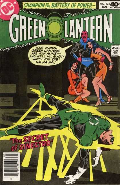 Green Lantern (1960) 124 - Lantern - Man - Woman - Lady - Guy - Dick Giordano
