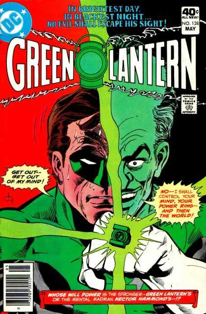 Green Lantern (1960) 128 - Colorful - Mask - Divided Face - Mind Control - Power Ring - Dick Giordano