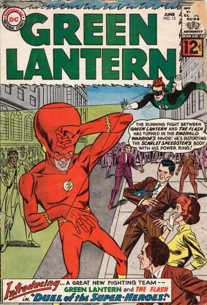 Green Lantern (1960) 13 - Skull - Head - Fly - Power - People