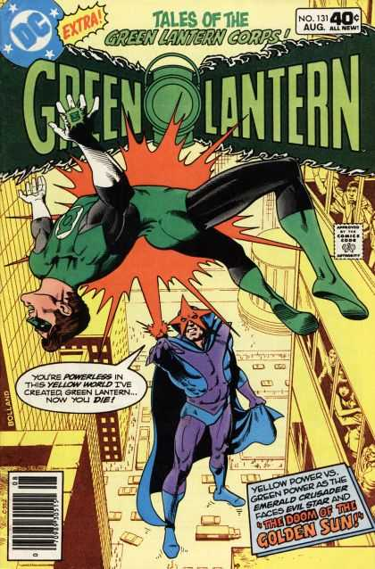 Green Lantern (1960) 131 - Traffic - Yellow - People Watching - Skyscraper - Evil Star - Brian Bolland