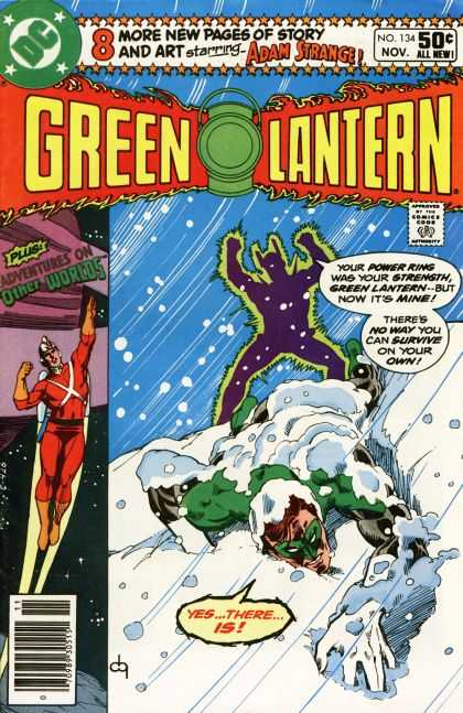 Green Lantern (1960) 134 - Adventure On Other Worlds - Adam Strange - 134 - November - Power Ring - Dick Giordano