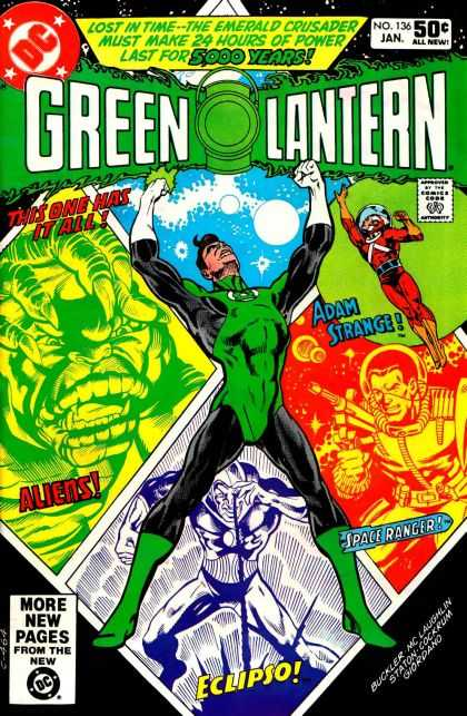 Green Lantern (1960) 136 - Dave Cockrum, Richard Buckler