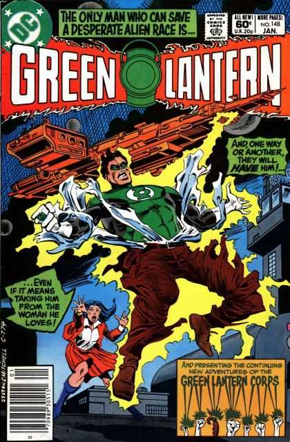 Green Lantern (1960) 148 - Green Lantern - Alien Race - Dc - January - No 148 - Joe Staton