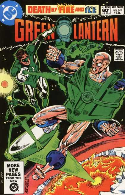 Green Lantern (1960) 149 - Death By Fire And Ice - Dc - Battle - Costume - Superhero - Dick Giordano, Joe Staton