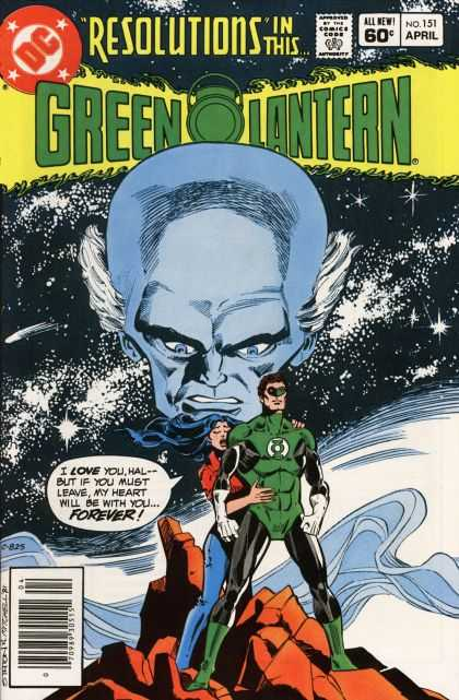 Green Lantern (1960) 151 - Green Lantern - Resolutions - I Love You Hal - Forever - Big Head - Joe Staton