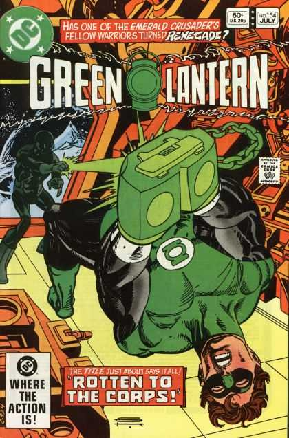 Green Lantern (1960) 154 - Power - Laser - Rotten - 60c - Ring
