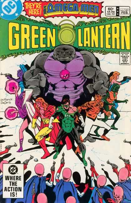 Green Lantern (1960) 161 - Dc - February - Weapon - Omega Men - Guns