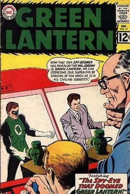 Green Lantern (1960) 17 - Green Latuern - Dc - December - No 17 - Spy-eye
