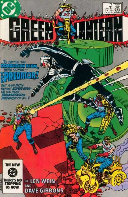 Green Lantern (1960) 179 - The Predator - Dc - Len Wein - Dave Gibbons - Demolition Team - Dave Gibbons