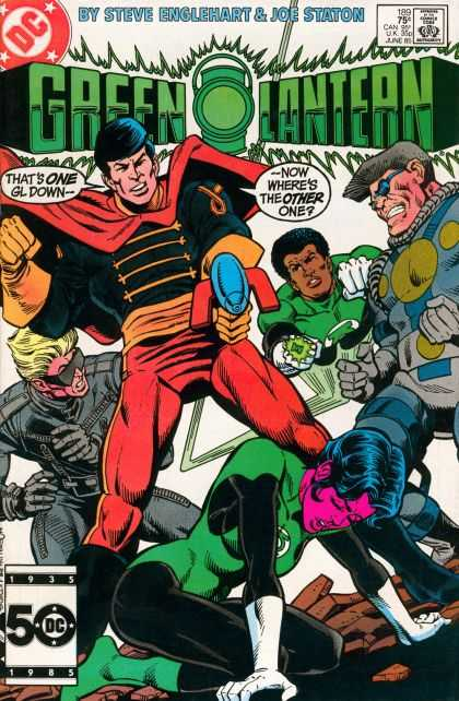 Green Lantern (1960) 189 - Dc Comics - Green Lantern - Superhero - Gl - Villian - Joe Staton