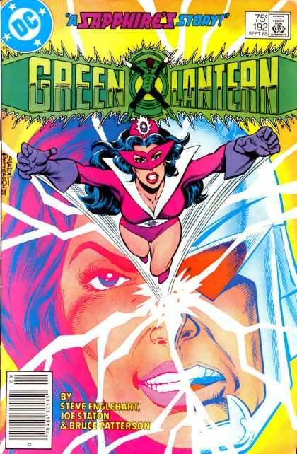 Green Lantern (1960) 192 - Approved By The Comics Code Authority - Dc - A Sapphires Story - Steve Englehart - Joe Staton - Joe Staton