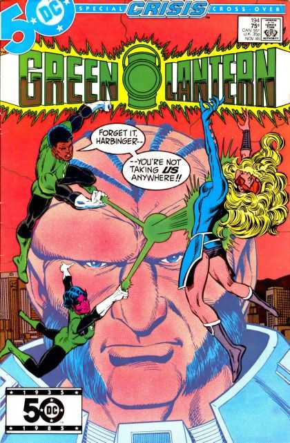 Green Lantern (1960) 194 - Crisis - Forget It - Harbinger - Us - Anywhere - Joe Staton