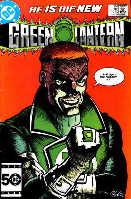 Green Lantern (1960) 196 - Howard Chaykin