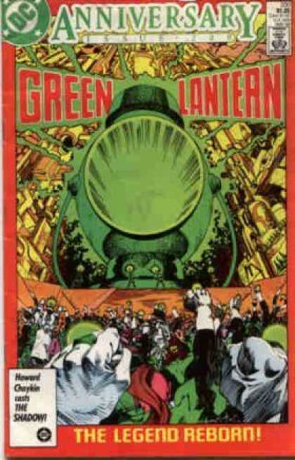 Green Lantern (1960) 200 - Anniversary - Dc - Approved By The Comics Code - Superhero - The Legend Reborn - Walter Simonson