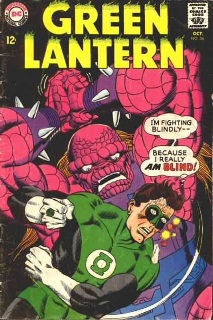 Green Lantern (1960) 56 - 56 - Dc - Oct - Blind - Purple Spikes - Murphy Anderson