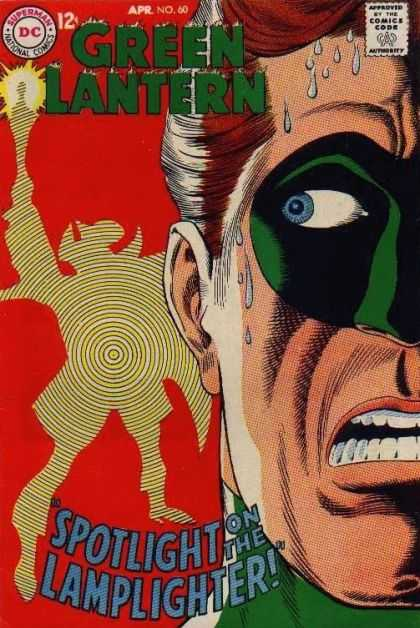 Green Lantern (1960) 60 - Dc - Mask - Lamplighter - Sweat - 60