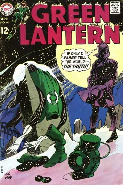 Green Lantern (1960) 68 - 68 - The Truth - Snow - Moon - Wasteland