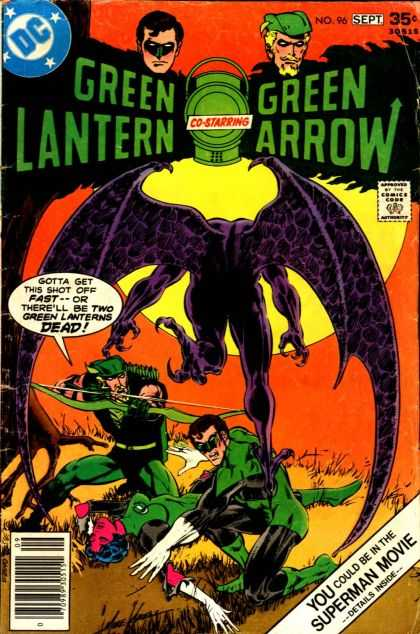 Green Lantern (1960) 96 - Demon - Green Arrow - Dc - Superman - Movie - Mike Grell