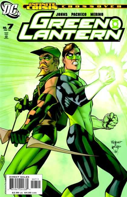 Green Lantern (2005) 7 - Infinite Crisis - Crossover - Superhero - Man - Approved By The Comics Code - Carlos Pacheco