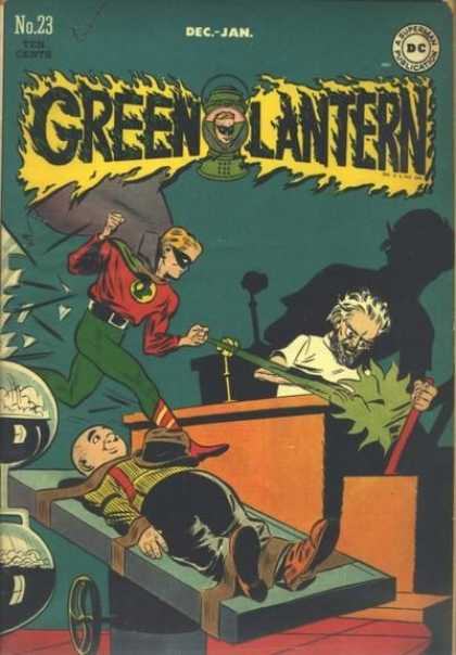 Green Lantern 23 - Dec-jan - No23 - Operating Table - Mad Scientist - Dc A Superman Publication