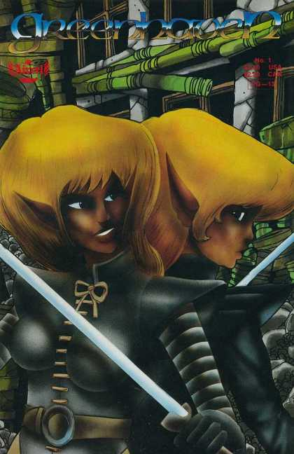 Greenhaven 1 - Big Ear - Blonde Hair - Twins - Swords - Pipes