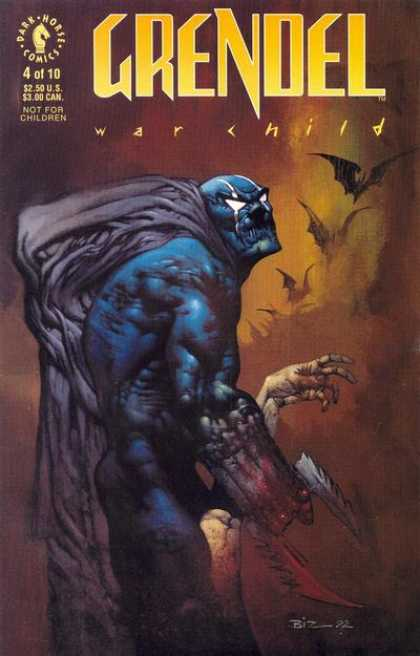 Grendel: War Child 4 - Grendel - Grendel War Child - War Child - Dark Horse Comics - 4 - Simon Bisley