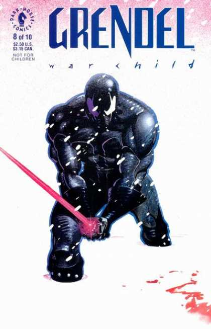 Grendel: War Child 8 - Dark Horse Comics - Sword - Not For Children - Superhero - Blood - Matt Wagner