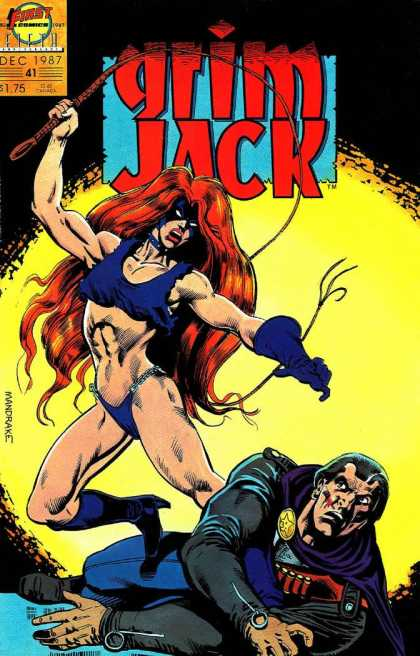 Grimjack 41 - 1first - 1first Comics - Wheep - Woman - Domination