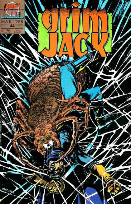 Grimjack 44 - First Comics - March - 1988 - 44 - Spider