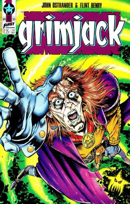 Grimjack 80 - Powerful - Witch - Necklace - Ugly - Power