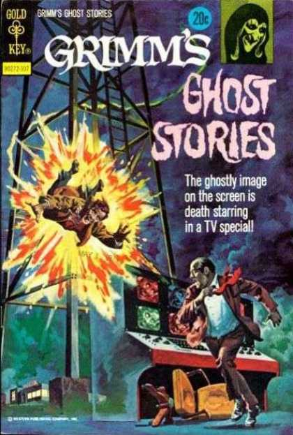 Grimm's Ghost Stories 10 - Grimms - Ghost - Stories - Chair - Death