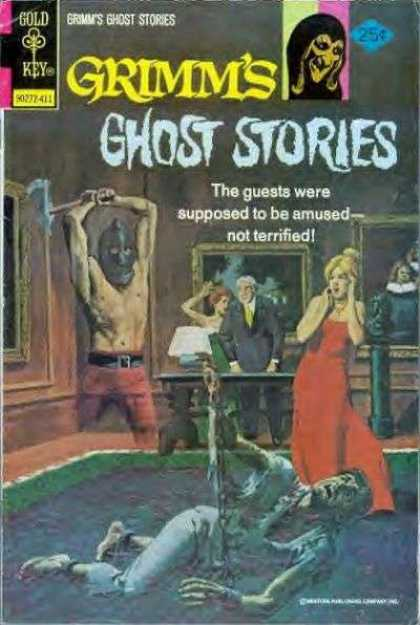 Grimm's Ghost Stories 20 - Gold Key - Man - Woman - Table - Axe