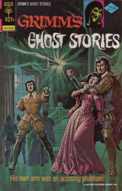 Grimm's Ghost Stories 28 - Scary Stories - Romantic Stories - Dueling Swordmen - His Own Arm Was An Accusing Phantom - Stabbing A Lady