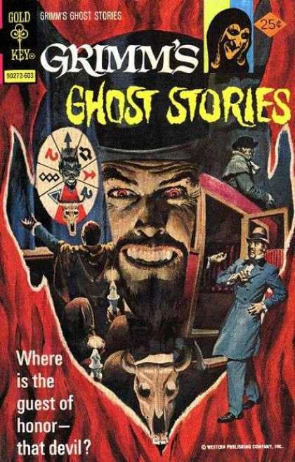 Grimm's Ghost Stories 29 - Devil - Honor - Red Eyed - Carraige - Top Hat