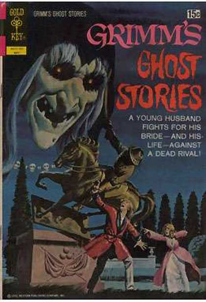 Grimm's Ghost Stories 3 - Ghost - Statue - Couple - Husband - Bride
