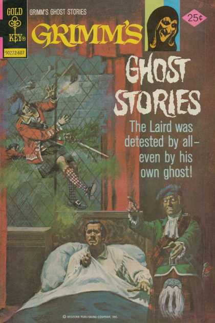 Grimm's Ghost Stories 31 - Laird - Window - Hat - Gold Key - Kilt